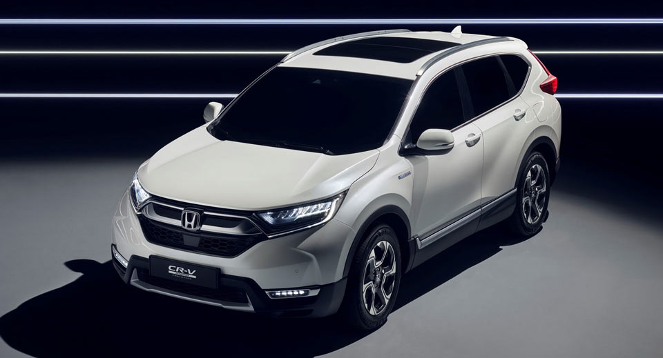 honda cr hybrid redesign changes release date