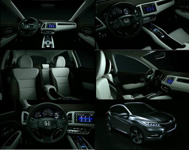 2015 Honda Urban SUV INTERIOR 630x501 2015 Honda Urban SUV Concept