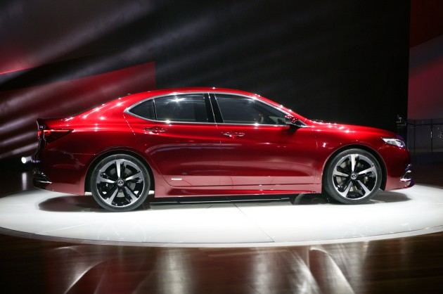 2016 Acura TLX ext
