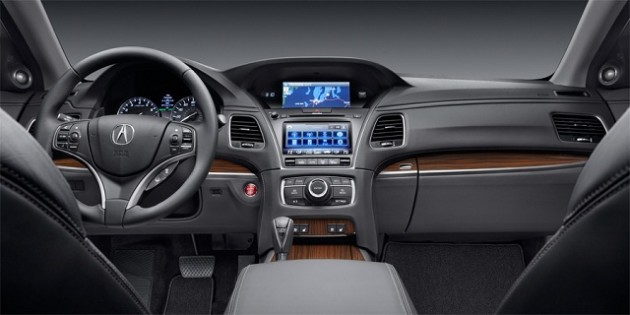 2016 Acura TLX interi 630x315 2016 Acura TLX Redesign