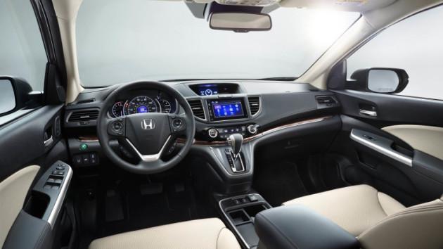 2016 Honda CR V Special Edition einterior 630x354 2016 Honda CR V Special Edition
