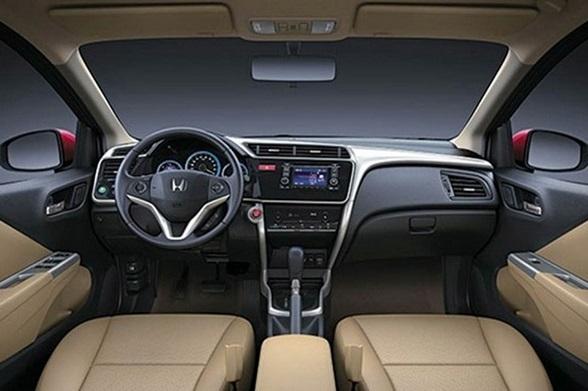2016 Honda City Interior Changes