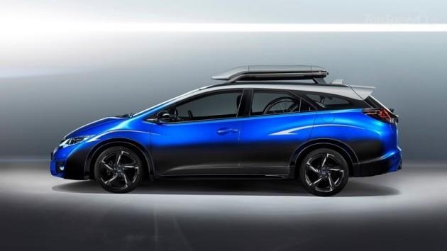 2016 Honda Civic Tourer Active Life Concept 630x354 2016 Honda Civic Tourer Active Life Concept