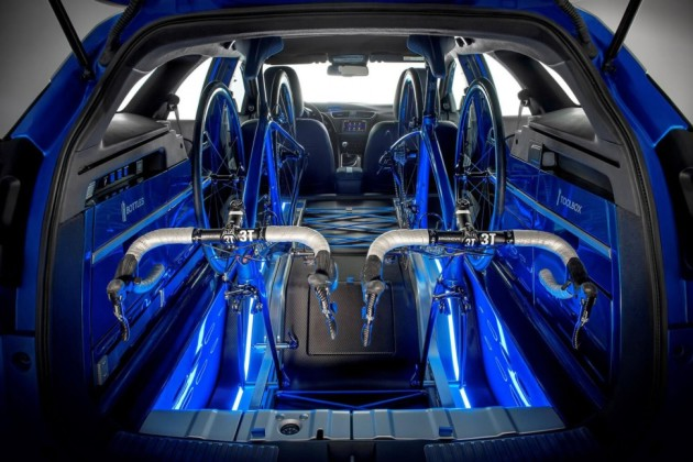 2016 Honda Civic Tourer Active Life Concept interior
