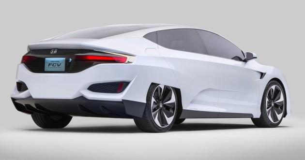 2016 Honda FCEV Concept back 630x331 2016 Honda FCEV Concept release date