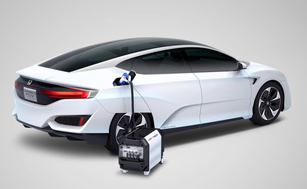 2016 Honda FCEV Concept engine 630x388 2016 Honda FCEV Concept release date