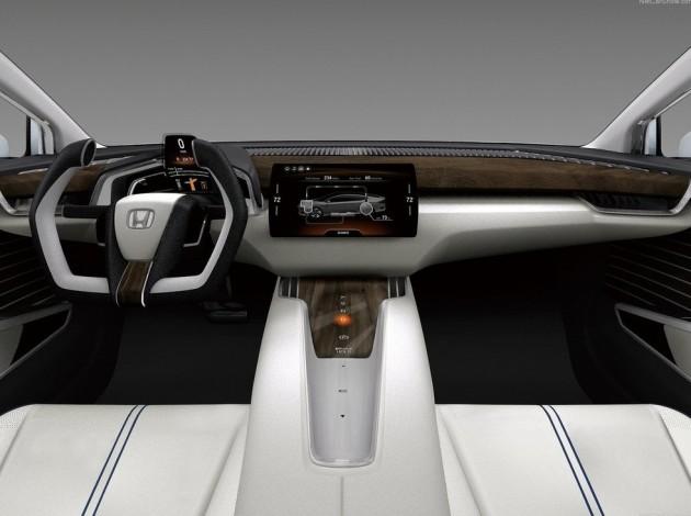 2016 Honda FCEV Concept interior 630x470 2016 Honda FCEV Concept release date