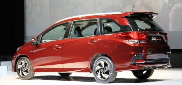 2016 Honda Mobilio ext 4 630x297 2016 Honda Mobilio review