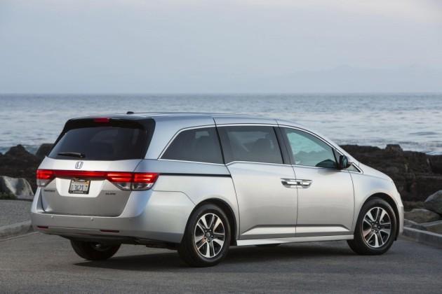 2016 Honda Odyssey Special Edition exterior