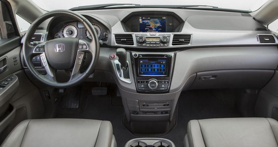 2016 Honda Odyssey Special Edition interior