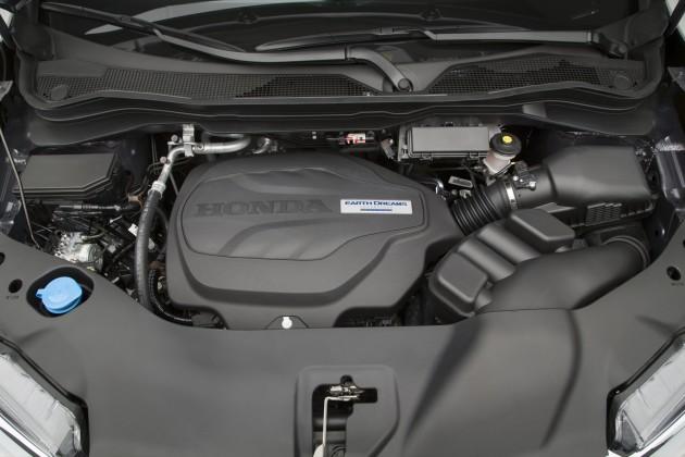 2016 Honda Pilot Engine 630x420 2016 Honda Pilot interior design