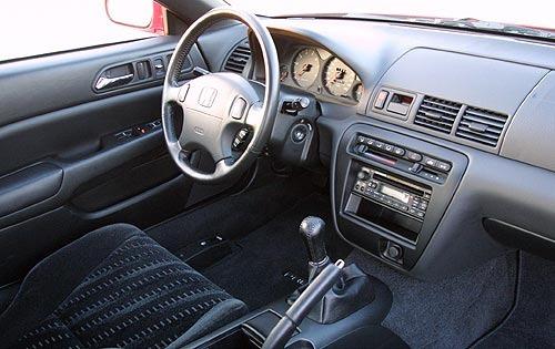 2016 Honda Prelude interior 1