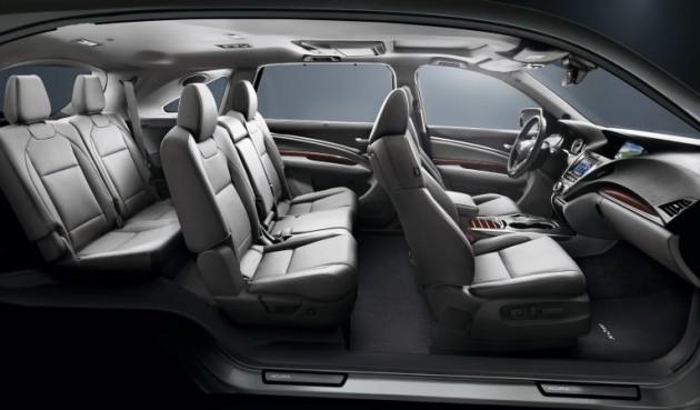 2017 Acura MDX interior 2