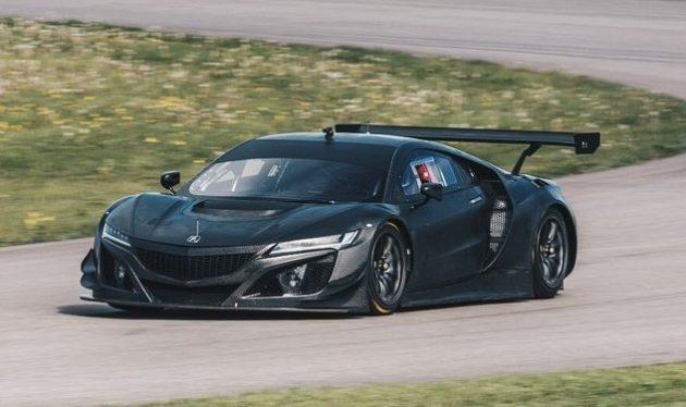 2017 Acura NSX GT3 45 630x374 2017 Acura NSX GT3 Race Car