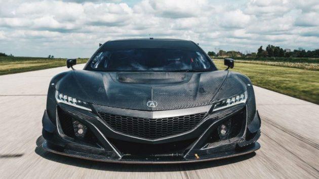 2017 Acura NSX GT3 EXT 4