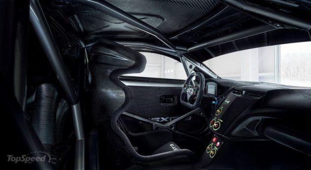 2017 Acura NSX GT3 interior