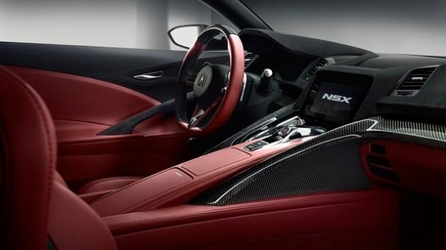 2017 Acura NSX Type R INTERIOR 630x354 2017 Acura NSX Type R Price