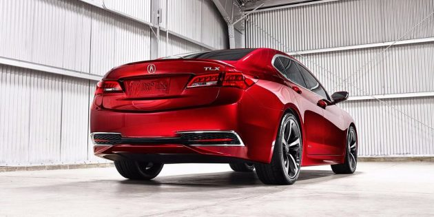 2017 Acura TLX exterior 3 630x315 2017 Acura TLX Review
