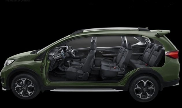 2017 Honda BR-V interior