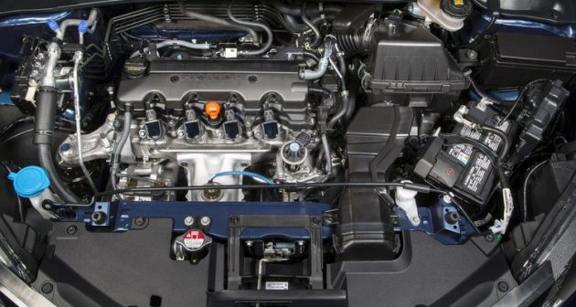2017 Honda BR-V engine