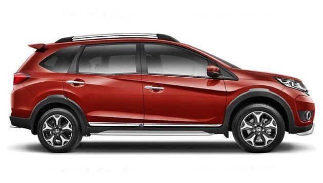 2017 Honda BR-V exterior 3
