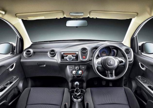 2017 Honda Brio interior 630x447 2017 Honda Brio Diesel