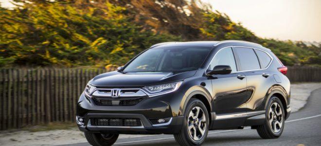2017 Honda Cr V Ex L