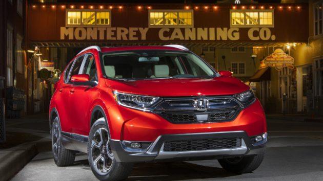 2017 Honda CR-V exterior front part