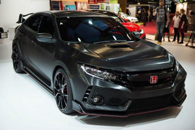 2017 Honda Civic Type R exterior 45