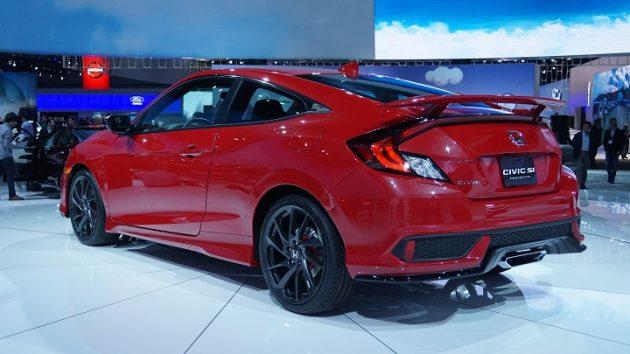 2017 Honda Civic Si ext