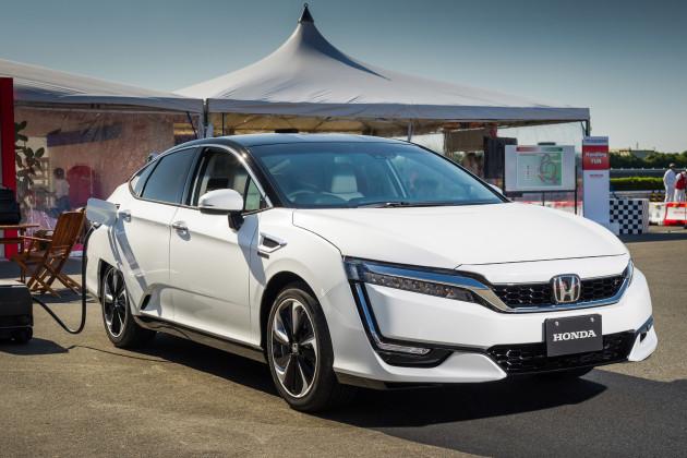 2017 Honda FCV 4