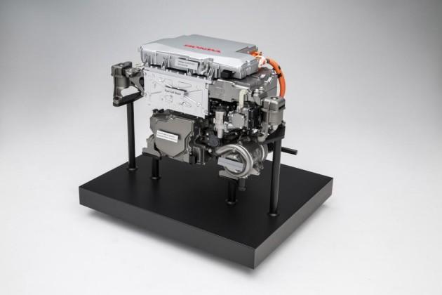 2017 Honda FCV engine