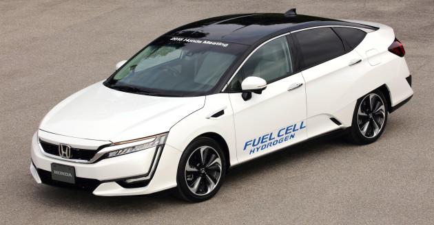 2017 Honda FCV ext