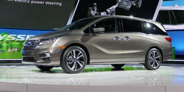 2017 Honda Odyssey 34 1 630x315 Release Date
