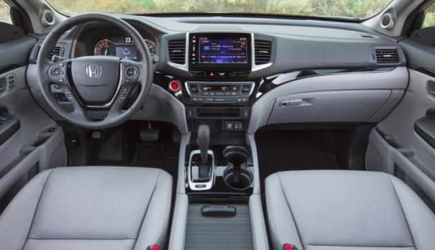 2017 Honda Ridgeline INTERIOR 630x362 2017 Honda Ridgeline release date