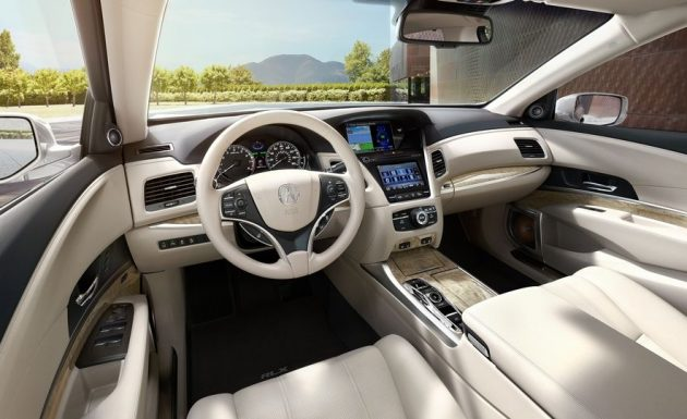 2018 Acura RLX interior 23 1 630x385 2018 Acura RLX Sport Hybrid