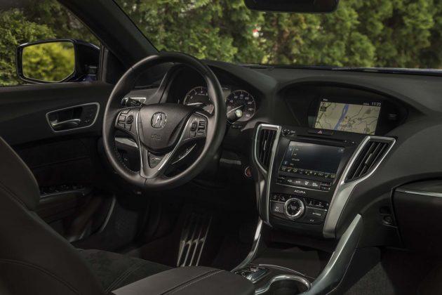 2018 Acura TLX interior 1 630x420 2018 Acura TLX Redesign