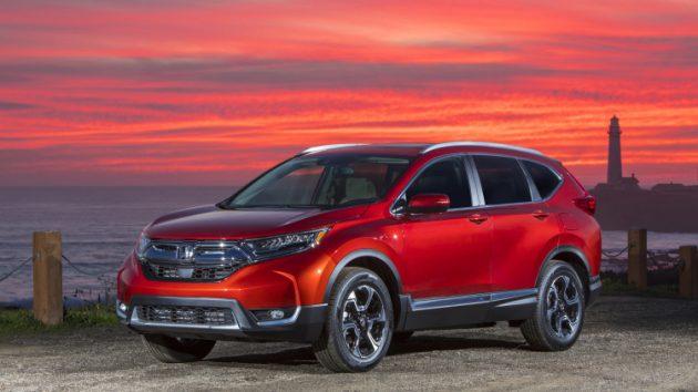 Dòng ô tô Honda Crv phiên bản 2018 có gì mới?