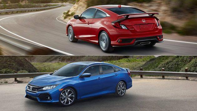 civic si honda coupe sedan specs interior revealed business