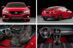 2018 Honda Civic Si interior 250x166 2018 Honda Civic Si Release Date and Price