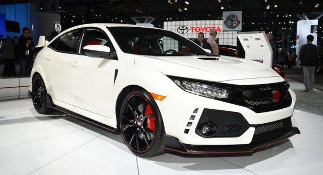 2018 Honda Civic Type R 630x341 2018 Honda Civic Type R Release date