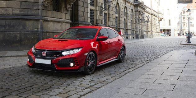 2018 Honda Civic Type R ext 1 630x315 2018 Honda Civic Type R Release date