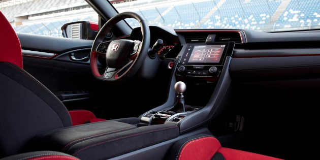 2018 honda civic type r specs price sedan release date usa for Interior honda civic 2018