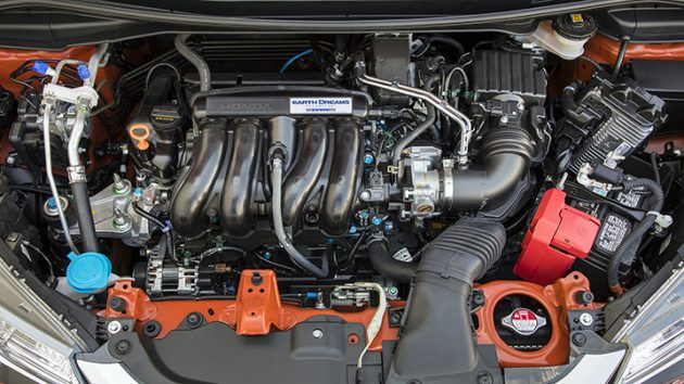 2018 Honda Fit engine 1 630x354 2018 Honda Fit Sport Specs
