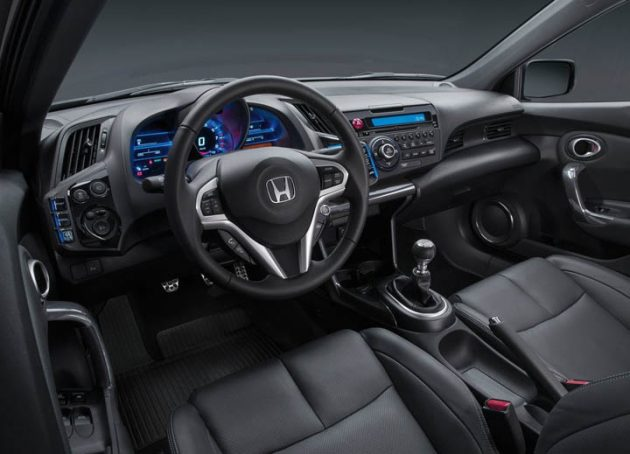 2018 Honda Interior 630x454 2018 Honda CR Z Release date