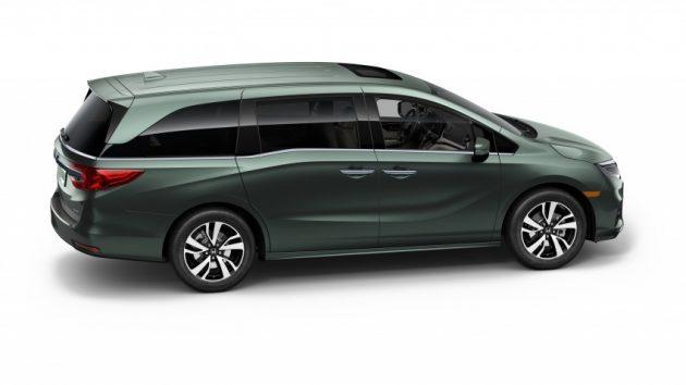 2018 Honda Odyssey exterior 630x354 2017 Honda Odyssey release date