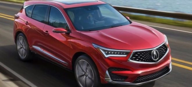 2019 Acura Rdx Release Date