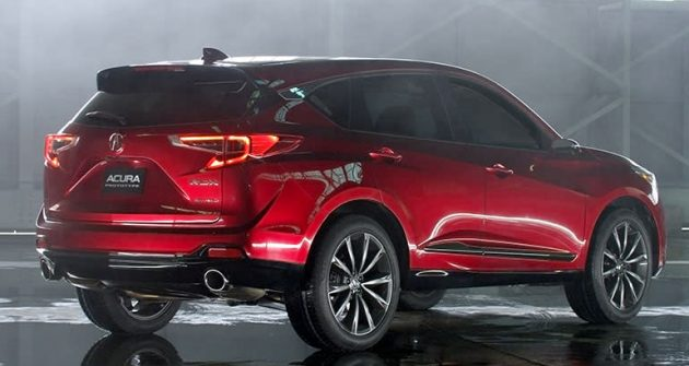 2019 Acura RDX Prototype Redesign Changes Price Release Date
