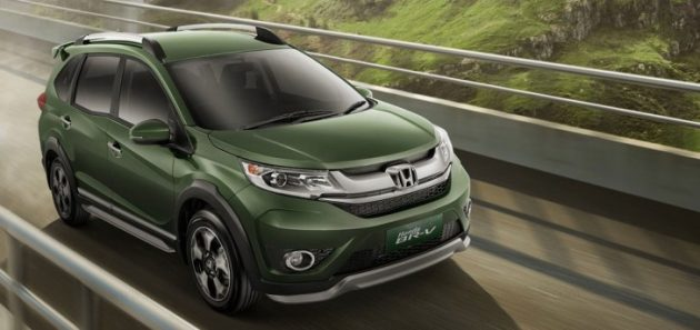 2019 Honda BR V EXT 630x297 2019 Honda BR V Release Date