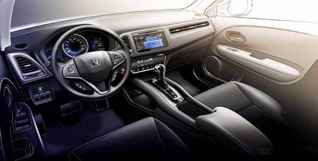 2019 Honda HR V INTERIOR 630x319 2019 Honda HR V Changes